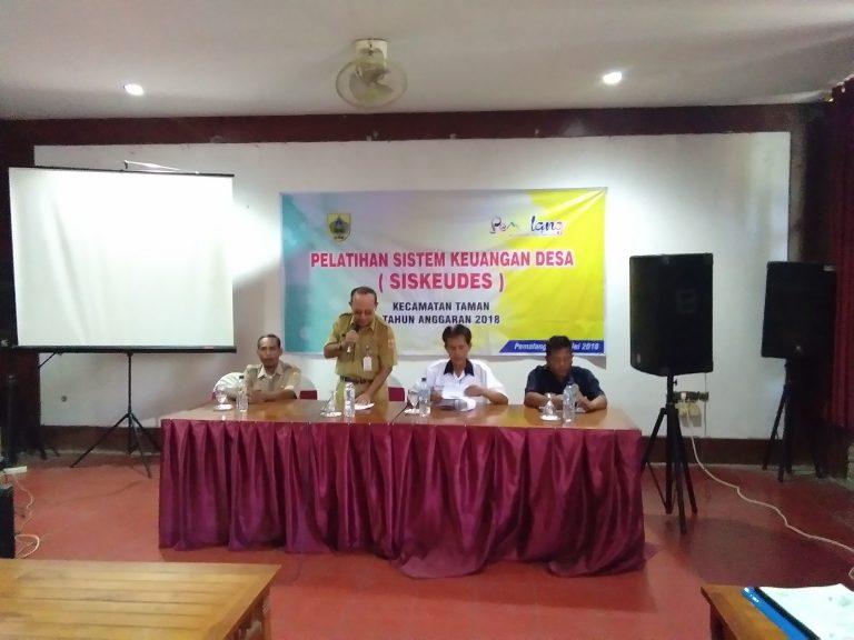 Pelatihan Sistem Keuangan Desa (Siskeudes)