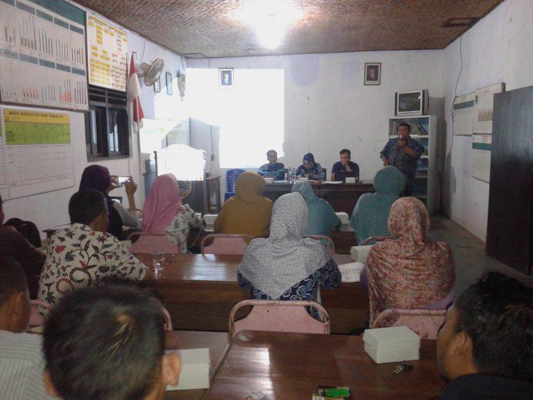 Bimtek dan Pelatihan Ketua dan Anggota KPPS Desa Kejambon untuk Pilgub Jateng 2018